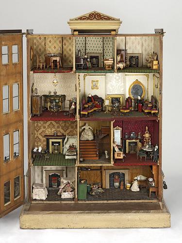 Casas de mu ecas fiusss opini n steampunk for Jardin la casa de munecos