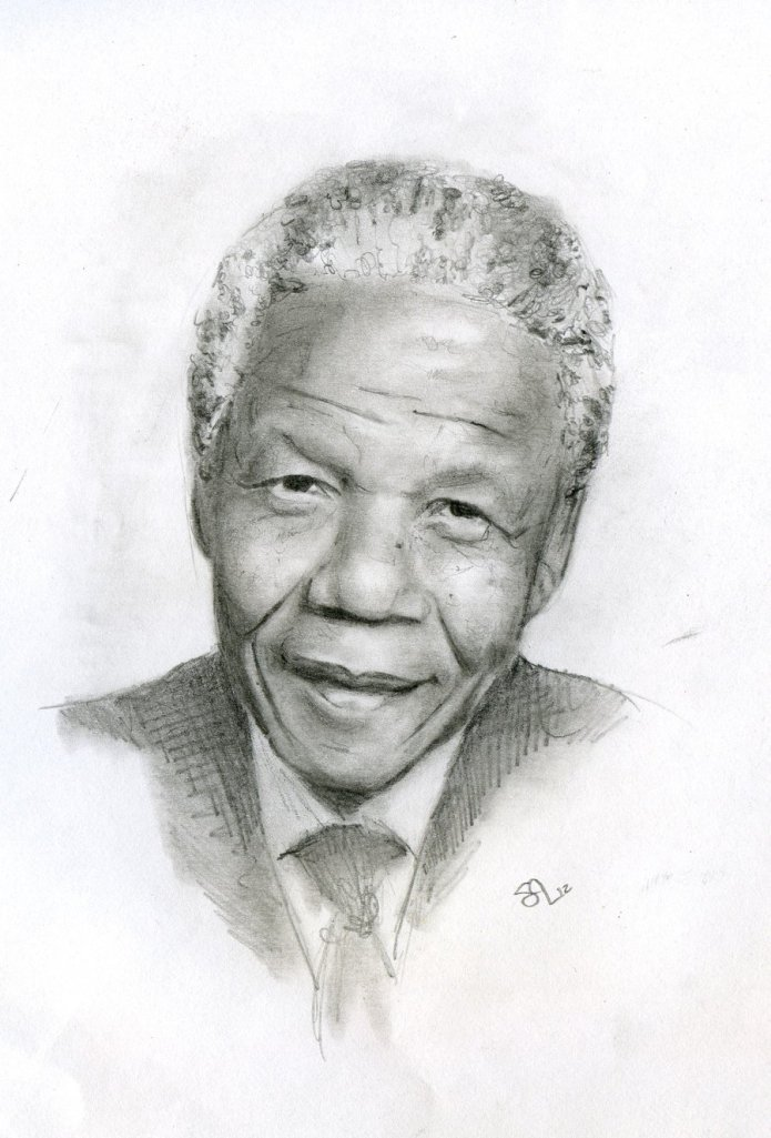 nelson_mandela_by_sibylleanna-d5huo30