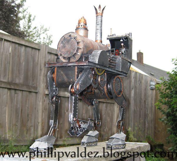 Papercraft-Steampunk-Iron-Horse-by-Phillip-Valdez_3