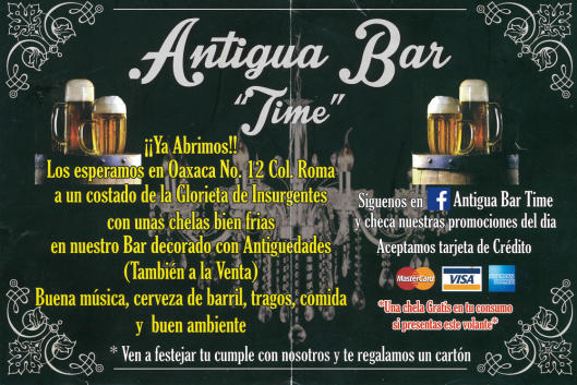antigua bar time